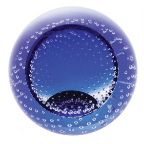 Blue Blank Paperweight