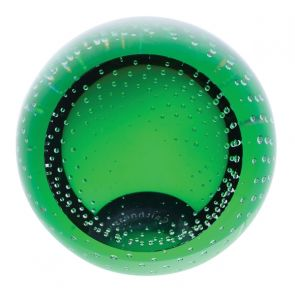 Green Blank Paperweight