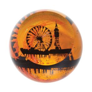 Landmarks - Golden Sunrise - Blackpool