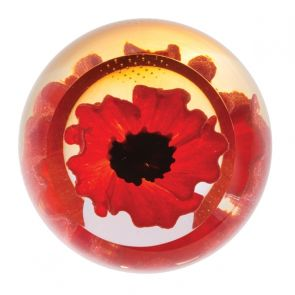 Floral Charms - Red Poppy