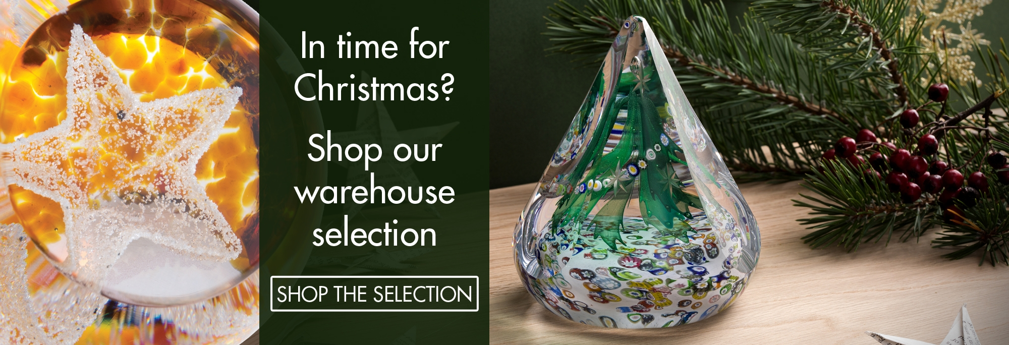 Caithness Glass - In time for Christmas?