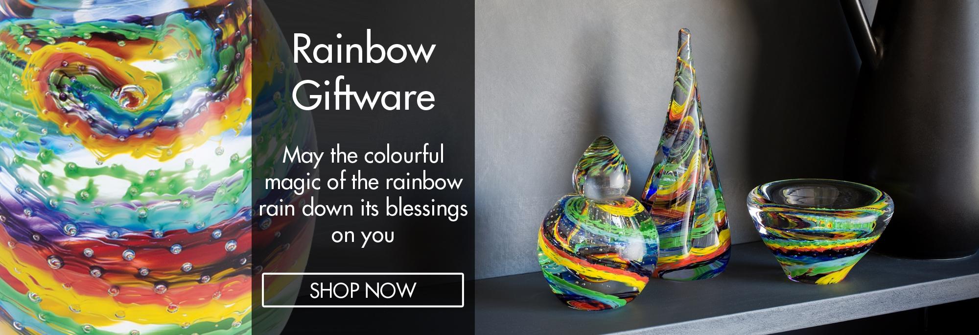 Caithness Glass - Rainbow Giftware