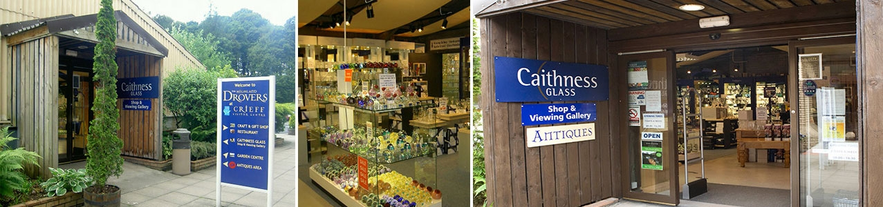 Retail Shops at Crieff Visitor Centre